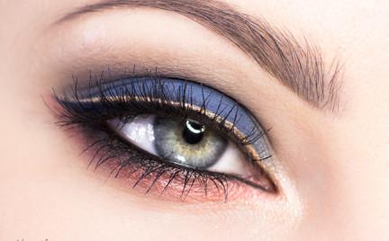 Makijaż: Blue Orange