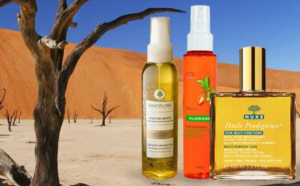 Na każdą kieszeń: suche olejki do ciała i włosów