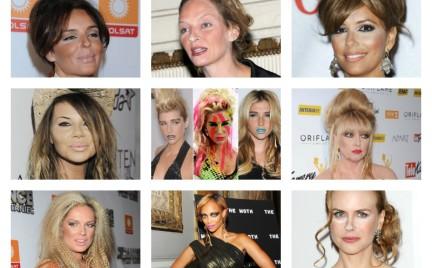 Najgorsze makijaże gwiazd