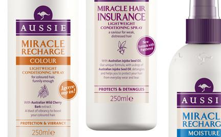 Linia tygodnia: mgiełki do włosów Aussie Miracle Recharge