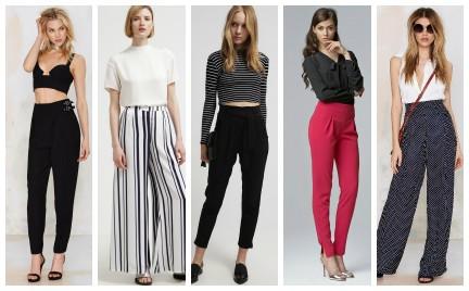Kupujemy: spodnie z wysokim stanem