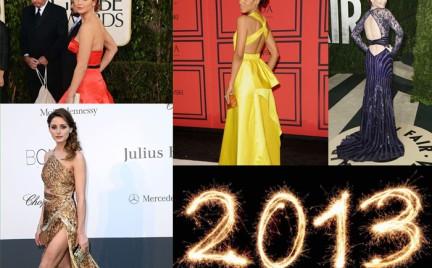 Najlepiej ubrane zagraniczne gwiazdy 2013 roku