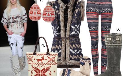 Moda z wybiegów: wzory skandynawskie