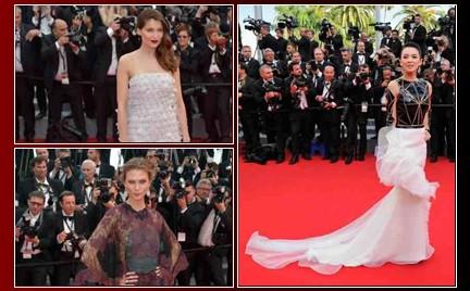 Najgorzej ubrane gwiazdy na festiwalu w Cannes