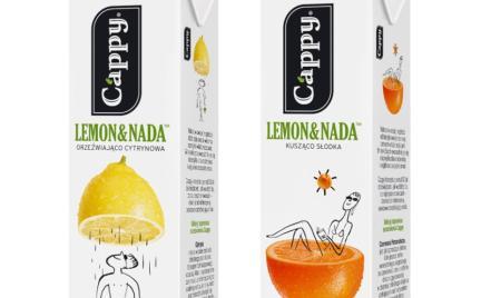 Nowe smaki Cappy Lemon amp;Nada