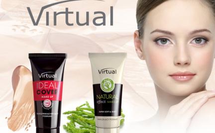 W poszukiwaniu podkładu idealnego: Ideal Cover i Natural Effect od Virtual