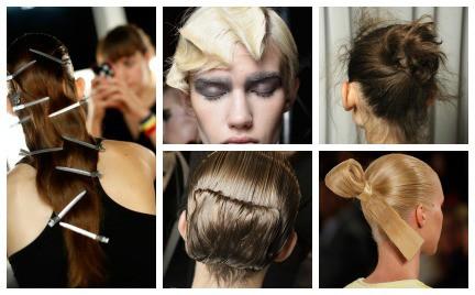 Najbardziej spektakularne fryzury z pokazów kolekcji wiosna-lato 2015
