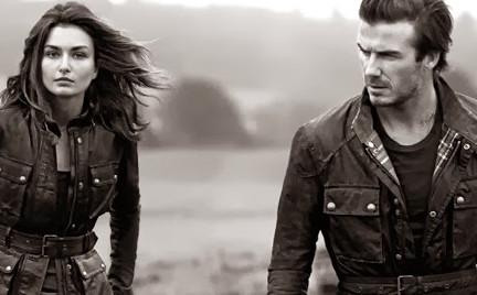 David Beckham w kampanii Belstaff