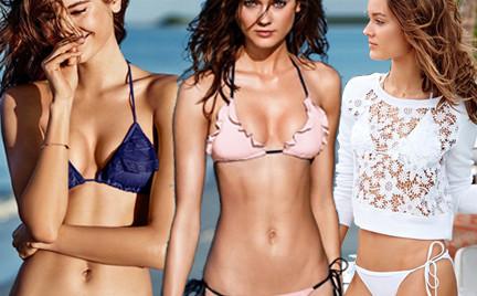 Monika Jac Jagaciak w plażowej kolekcji Victoria s Secret