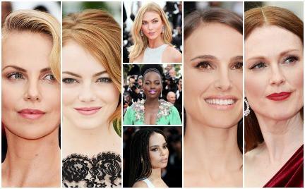 Top 10. Najlepsze makijaże i fryzury z Cannes