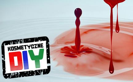Zrób to sama Kosmetyczne DIY: sztuczna krew na Halloween