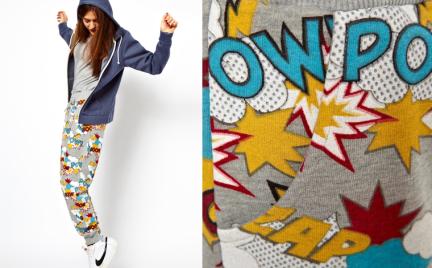 Designerskie spodnie dresowe w ASOS