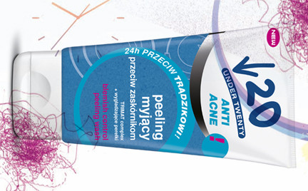 Kosmetyk tygodnia: peeling myjący Under Twenty Anti Acne