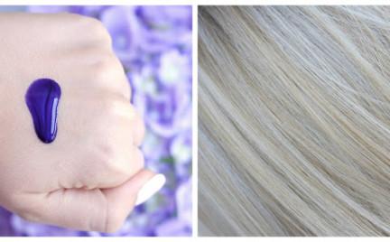 Top 6. Fioletowe szampony do włosów siwych i blond