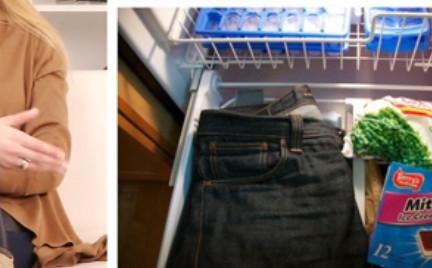 Jak odświeżyć jeansy bez prania