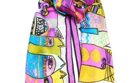 Jedwabne szaliki Nova Moda