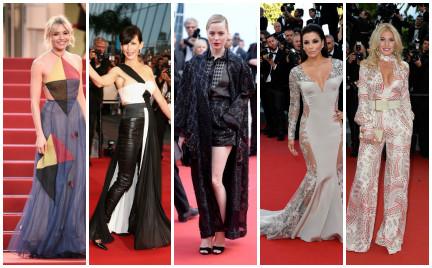 Najgorzej ubrane gwiazdy Festiwalu Filmowego w Cannes