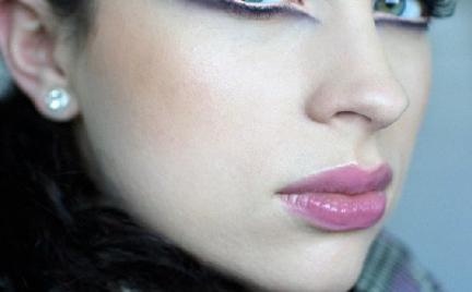Makijaż 246 - karnawałowe kreski