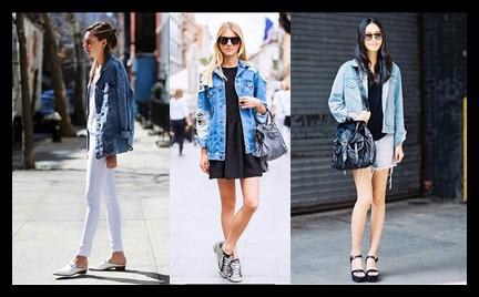 Trudny trend: kurtka dżinsowa oversize