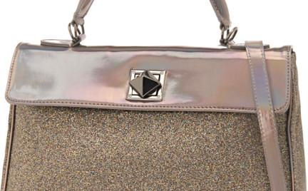 Alternatywa dla kopertówki: brokatowa torebka Aldo