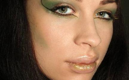 Makijaż 217 - leśny elf