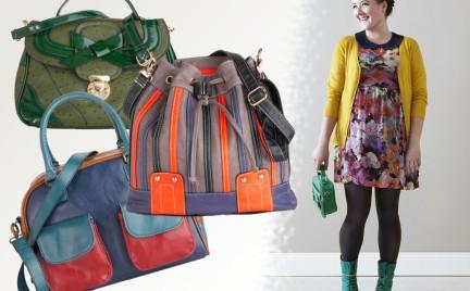 Kolorowe torby ModCloth