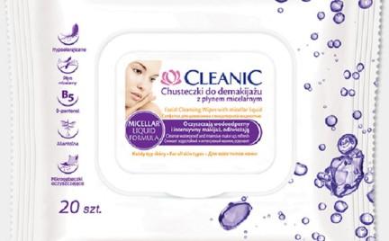 Kosmetyk tygodnia: chusteczki do demakijażu Cleanic z Płynem Micelarnym