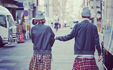 Nowy trend: zsynchronizowane stylowo pary
