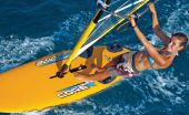 Snobka Fit: windsurfing