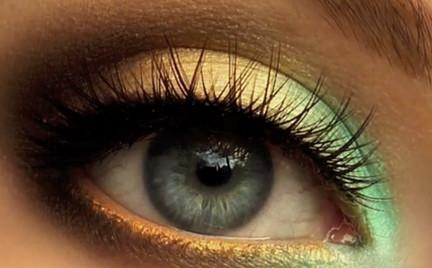 Wideomakijaże: odcienie mięty i pistacji