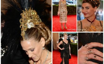 Najbardziej spektakularna biżuteria gwiazd na gali MET w Nowym Jorku