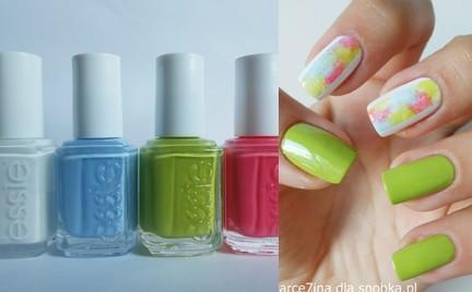 Manicure krok po kroku: Kolorowy Gradient