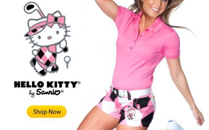 Hello Kitty podbije golfową modę