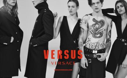 Anthony Vaccarello dla Versus Versace. Po raz pierwszy jako dyrektor kreatywny
