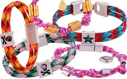 Hit czy kit: bransoletki z kolorowej liny By Dziubeka