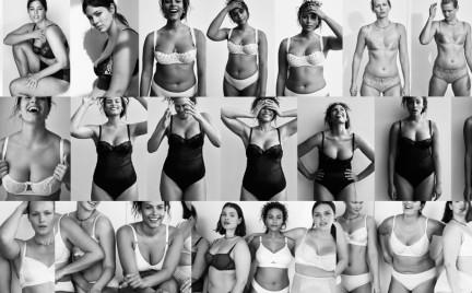 Modelki plus size w edytorialu Vogue a
