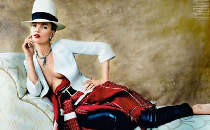 Kate Moss w peruwiańskiej sesji dla Vogue