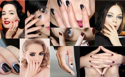 Hit na teraz: półksiężycowy manicure