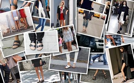Klapki Birkenstock: tak noszą je gwiazdy i blogerki