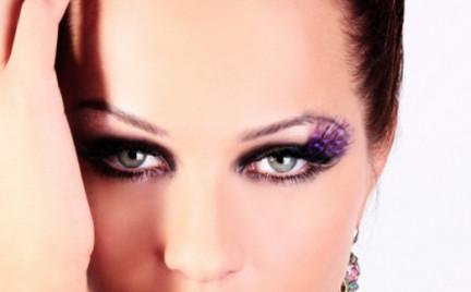 Karnawałowo: stylizacja z Fantasy Feathers Nouveau Lashes
