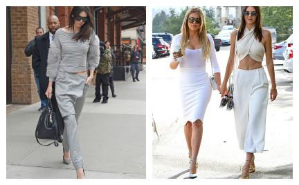 Hit czy kit: spódnico-spodnie w stylu Kendall Jenner