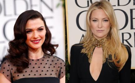 Która lepiej: Kate Hudson czy Rachel Weisz