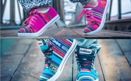 Ręcznie robione: buty Inkkas