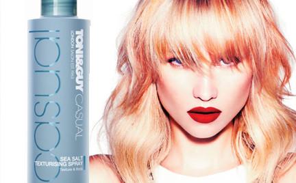 Kosmetyk tygodnia: Toni Guy Sea Salt Texturising Spray