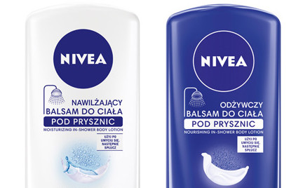 Kosmetyk tygodnia: balsam do ciała pod prysznic Nivea