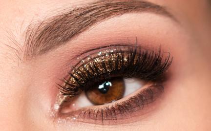 Makijaż: Sparkling Brown