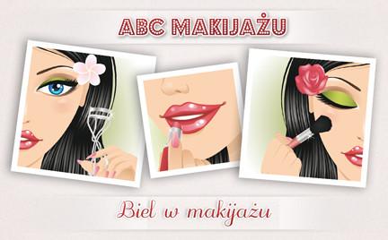 ABC Makijażu: Biel w makijażu