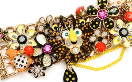 Hit czy kit: biżuteryjny lew Betsey Johnson