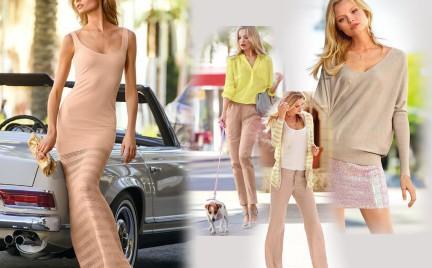 Beżowa kolekcja Victoria s Secret