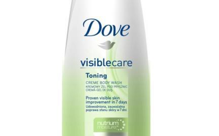 Żel pod prysznic VisibleCare Toning Dove